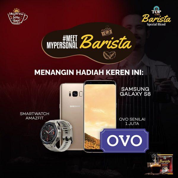 Lomba Video My Personal Barista Berhadiah SAMSUNG Galaxy S8