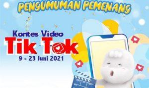 Pengumuman Pemenang Kontes Video TikTok MamyPoko