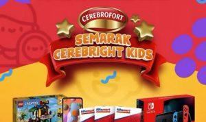 Promo Semarak Cerebright Kids Hadiah Nintendo Switch, Samsung A11, dll