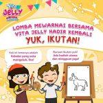 Raih Hadiah Jutaan Rupiah Dengan Ikut Lomba Mewarnai Keledai Vita Jelly