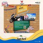 Undian Sun Bell Gebyar Belanja Berhadiah Motor, LED TV, Smartphone, dll