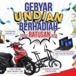 Gebyar Undian GREEBEL Berhadiah Motor, Laptop, HP, Sepeda dan lainnya