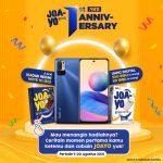 Giveaway 1st Anniversary JOA-YO Menangin XIAOMI Redmi Note 10 (5G)