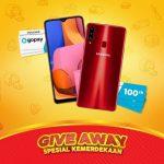 Giveaway Spesial Kemerdekaan WINCheez Hadiah 2 Smartphone & Gopay