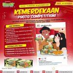Lomba Foto Kemerdekaan AIM Biscuits Hadiah Uang Total 1 Juta Rupiah