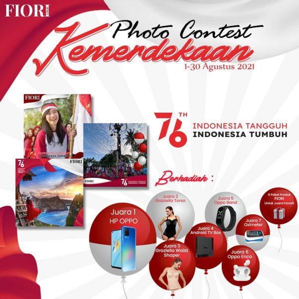 Lomba Foto Kemerdekaan FIORI Berhadiah Smartphone OPPO dan lainnya