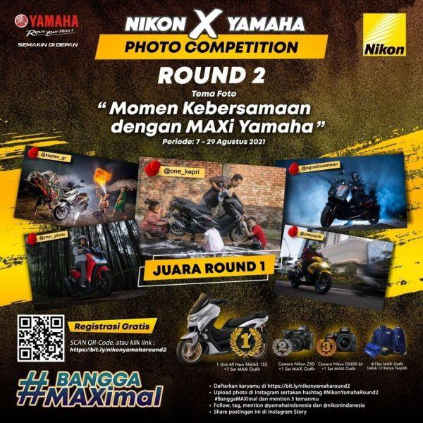 Lomba Foto Nikon x Yamaha Round 2 Berhadiah Motor All New NMAX 155