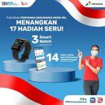 Lomba Video Gerakan Olahraga Berhadiah 3 unit Smartwatch & LinkAja