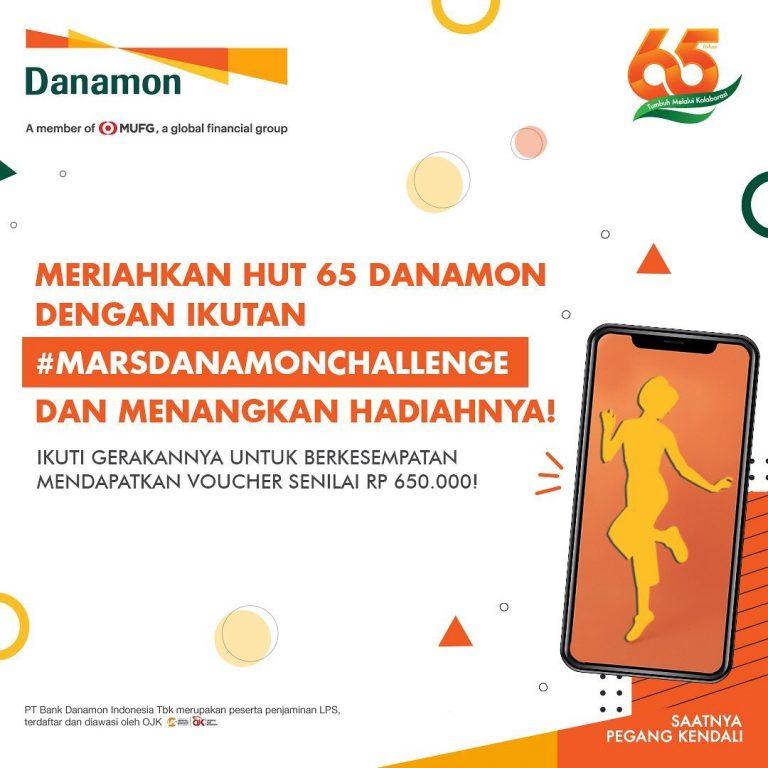 Lomba Video Mars Danamon Berhadiah Voucher Total Lebih dari 42 JUTA