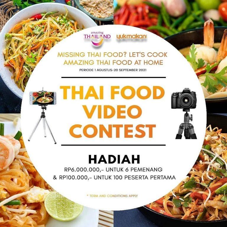 Lomba Video Masak Frozen Thai Food Berhadiah Total 16 Juta Rupiah