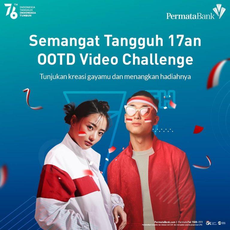 Lomba Video OOTD 17an Permata Bank Berhadiah Voucher Jutaan Rupiah
