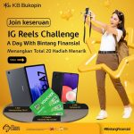 Lomba Video Reels KB Bukopin Hadiah SAMSUNG Tab A7, A22 & Voucher