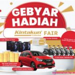 Undian Kintakun Collection Fair Berhadiah Honda Mobilio, 5 Motor, dll