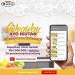Giveaway Resep Favorit Maestro Berhadiah E-Wallet Total 1.5 Juta