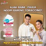 Kontes Video Ngopi Bareng Toraccino Berhadiah Uang & Gopay