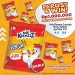 Kuis Online Repost & Win Mie Kremezz Berhadiah Total 1 Juta Rupiah