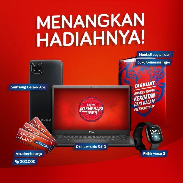 Lomba Cerita Generasi Tiger Biskuat Berhadiah Laptop, HP, Smartwatch, dll