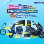 Lomba Foto Mentos Fresh Xperience Berhadiah Motor, Sepeda, Laptop, dll
