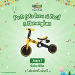 Lomba Foto Promina Snack Carnival Berhadiah Geko Bike, OVO, dan lainnya