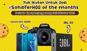 Lomba Foto Sohib TerHQQ Berhadiah Canon EOS 3000D, Oppo A12, dll Diperpanjang