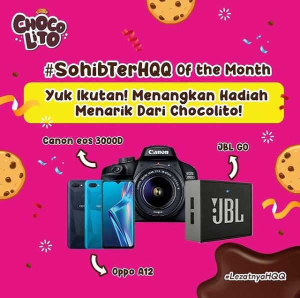 Lomba Foto Sohib TerHQQ Berhadiah Canon EOS 3000D, Oppo A12, dll