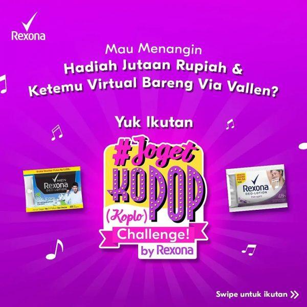 Lomba Joget KoPop Challenge Berhadiah TV, Set Karaoke & Saldo OVO