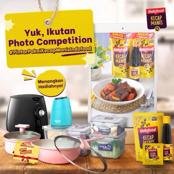 Lomba Masak Pakai Kecap Indofood Berhadiah Air Fryer, Food Processor, dll