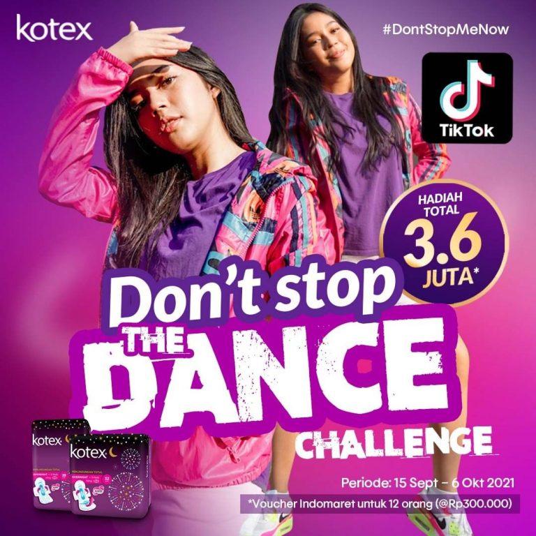 Lomba Video Dance Tiktok Kotex Berhadiah Voucher Indomaret Total 3,6 Juta (1)
