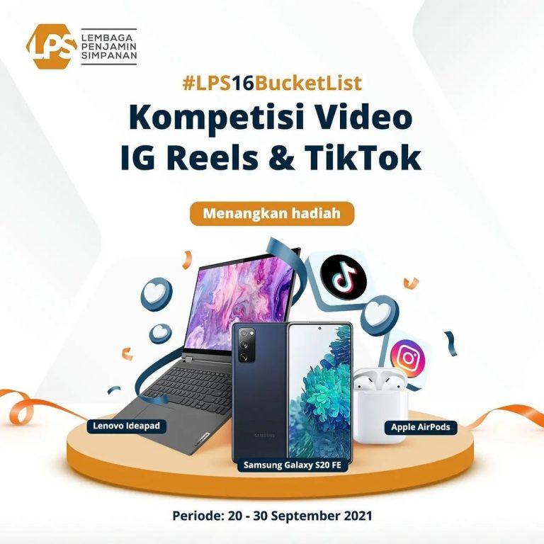 Lomba Video LPS 16 Bucket List Berhadiah Samsung S20 FE, Laptop, dll