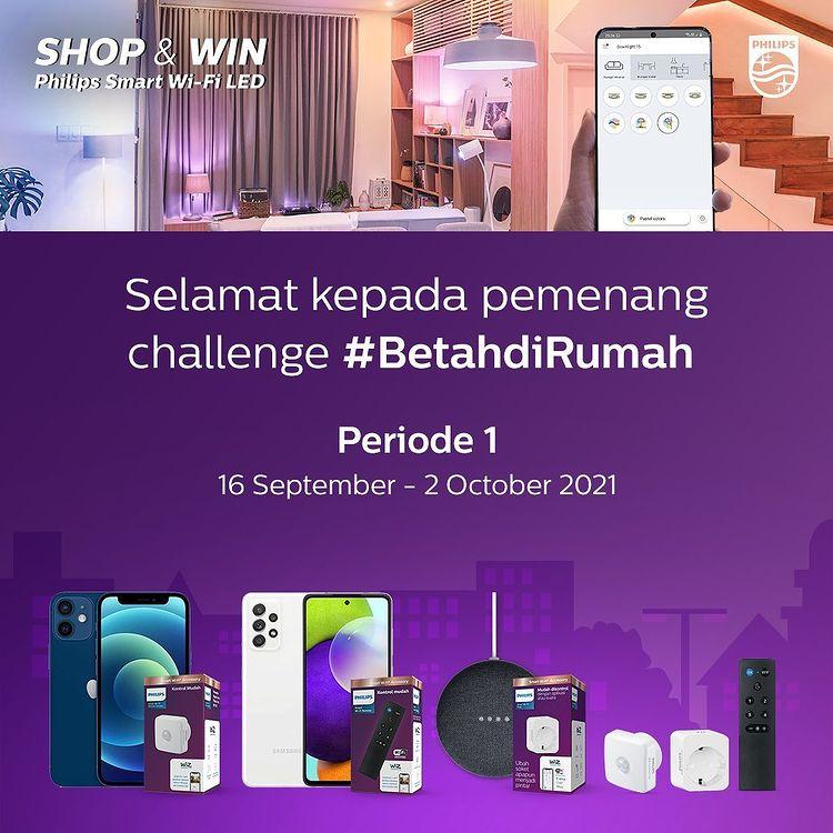 Pemenang Promo Philips Smart Wi-Fi LED Periode 1 (5)
