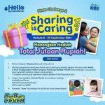 Photo Challenge Sharing is Caring ByeBye-FEVER Berhadiah Jutaan Rupiah