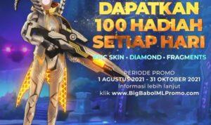 Promo BigBabol Dapatkan Hadiah ML Epic Skin, Diamonds & Fragment