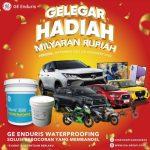 Promo GE Enduris Gelegar Hadiah Milyaran Rupiah Berhadiah Mobil
