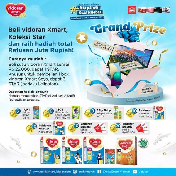 Promo Siap Jadi Kuat & Hebat Vidoran Alfamart Berhadiah Total Ratusan Juta