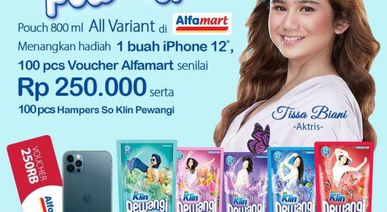 Promo So Klin Pewangi Puch Berhadiah iPhone 12, 100 Voucher & Hampers