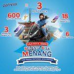 Promo Undian Gofress Hadiah Utama 3 unit Motor Honda PCX