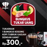 Promo Tukar Bungkus Kopi Gadjah & Caffino Jadi Uang