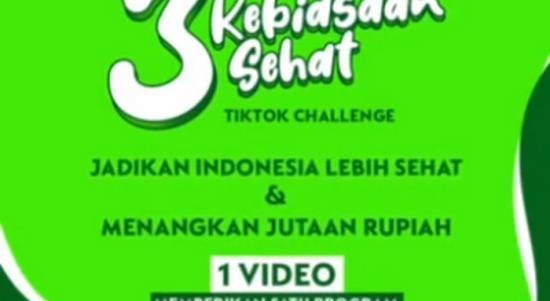 3 Kebiasaan Sehat Tiktok challenge