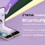 Flip With Us TikTok Challenge Berhadiah Samsung Galaxy Buds2