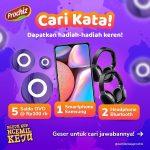 Giveaway Cari Kata Prochiz Berhadiah HP Samsung, Headphone & OVO