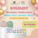 Giveaway Collaboration Pigeon Berhadiah Total 4,5 Juta Untuk 5 Pemenang