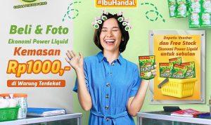 Kontes Foto Ekonomi Power Liquid Berhadiah Free Stok Produk 1 Bulan