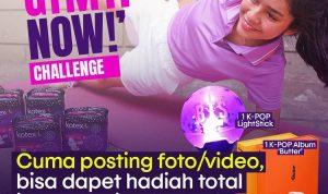 Kotex Gym It Now Challenge Berhadiah Huawei Watch Fit, Saldo, dll (1)