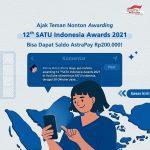 Kuis Ajak Teman Nonton SATU Indonesia Awards Hadiah Total 4 Juta