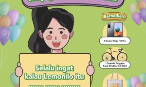 Kuis Lemonilo Anniver5sary Berhadiah 3 Xiaomi Note 10 Pro, Sepeda & Hampers