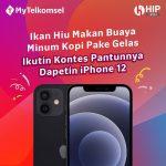 Kuis Pantun MyTelkomsel Berhadiah iPhone 12 dan Saldo LinkAja
