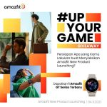 Kuis Up Your Game Berhadiah Smartwatch Amazfit GT Series Terbaru