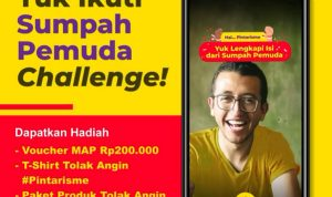 Lomba Filter IG Sumpah Pemuda Berhadiah Voucher MAP, Kaos & Produk