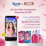 Lomba Filter Royale x Indomaret Hadiah iPhone 12 Mini, Voucher 25 Juta, dll