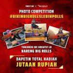Lomba Foto Bikin Bigrolls Lebih Polls Berhadiah OVO Total 2,5 Juta Rupiah